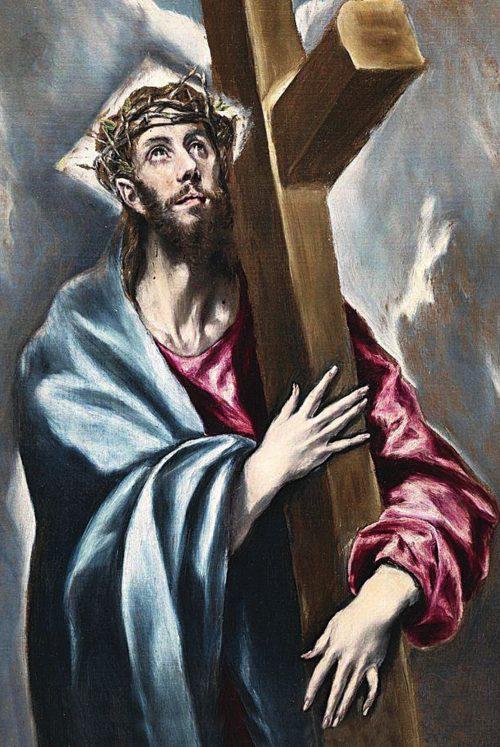 2. El Greco, Chrystus niosący krzyż, XVII w.