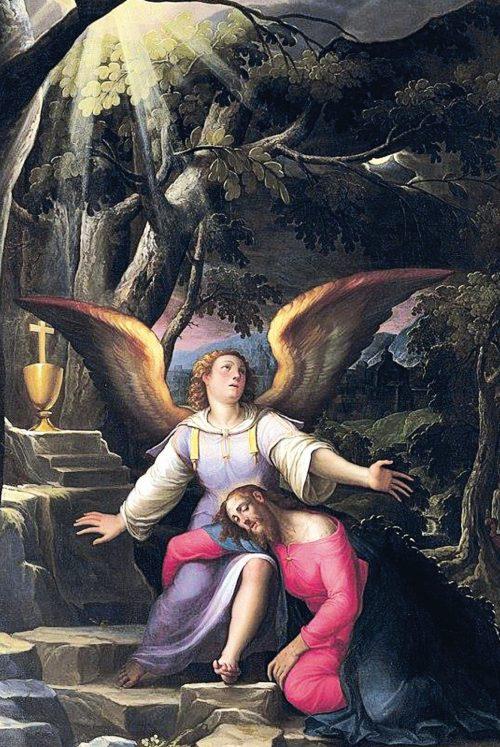 3. Jacopo Ligozzi, Agonia w ogrodzie, XVI w.
