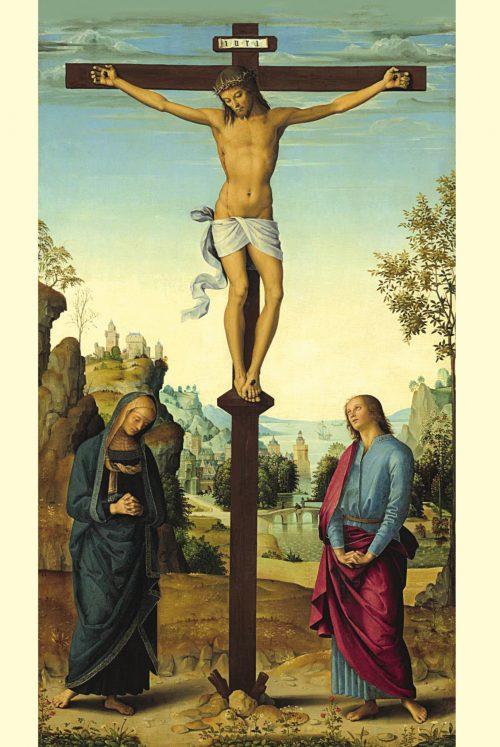 5. Pietro Perugino, Tryptyk Galicyjski (centralny fragment), XV w.